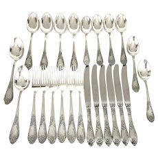 Vintage USSR Soviet era Melchior Russian Cutlery Set