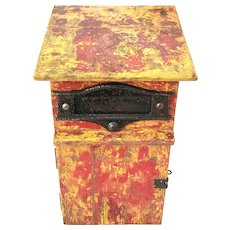 Vintage Outdoors Letter Mail Box