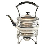 Georgian Style Spirit Kettle on Stand