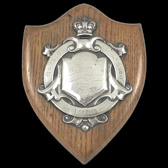 Antique Silver Mounted Garston Horse Show Award