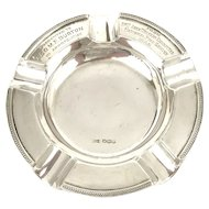 Walker and Hall Sterling Silver Ashtray