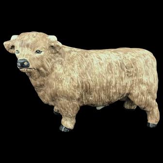 Rare Large Vintage Sylvac Bull