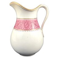 Large 19th Century Minton Florentine Wash Jug