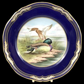 Modern Spode Collectors' Plate, Mallards