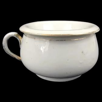 Rare Victorian Ceramic Spittoon Cup