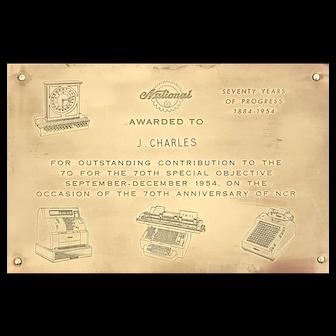 National 70th Anniversary Employee Award