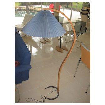 Caprani Danish Modern Bentwood Floor Lamp