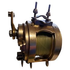 1960s Fin-Nor 4A Gold Series  Fishing  Reel  4/0