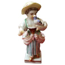 Antique German Porcelain Meissen G-12 Figurine