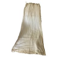 !9th Century French Fashion bridal veil