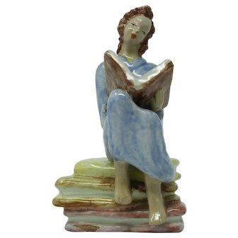 Hungarian Art Deco Figurine of Woman