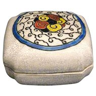 Catteau Boch Freres Lidded Box - Art Deco