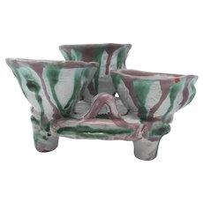 Scheibbs Wiener Werkstatte Footed Vessel/Vases – 1920s
