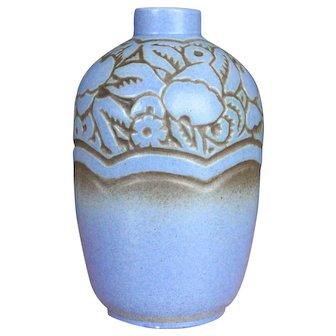 French Art Deco Vase - Mougin Nancy Geo Condé