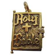 Holy Bible Silver Book Locket