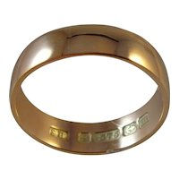 Antique 9ct hallmarked for 1912 Rose Gold Ring