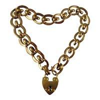 Antique Victorian gold fill (rolled gold) bracelet