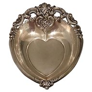 Wallace Grande Baroque Heart Bowl, Dish