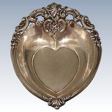 Wallace Grande Baroque Heart Bowl, Dish