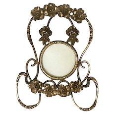 Brass Art Nouveau Picture Frame... Fine Detail