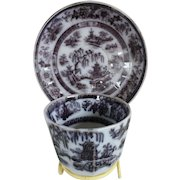 Mulberry Cup & Saucer in the SINGAN Pattern