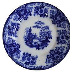 SIMLA Charger Plate in Flow Blue