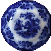 SABRAON Plate by Samuel Alcock in Flow Blue