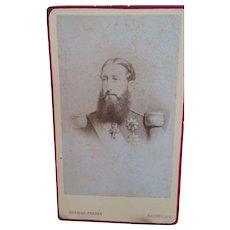CDV of King Leopold II of Belgium
