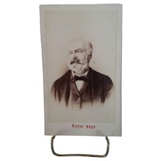 CDV Victor Hugo, Famous French Author, c. 1862-1869