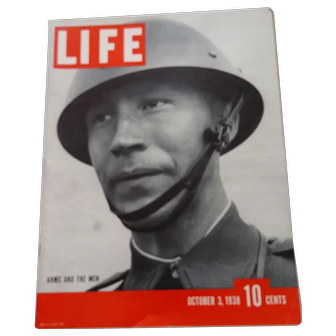 LIFE Magazine Oct. 3, 1938 -Chamberlin Meets with Hitler