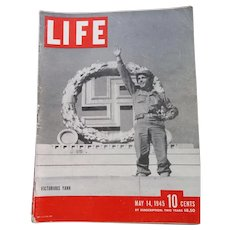 LIFE Magazine May 14, 1945, Victory in Europe