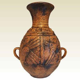 Vintage West-Germany Jasba Keramik vase Decor Mexiko 1960s