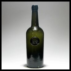 Rare 19th Century Chichester Family Sealed Bottle c1830