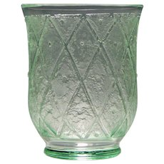 Daum Nancy Art Deco Glass Vase c1930
