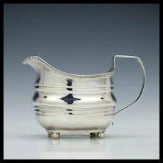 Silver Cream Jug London 1812