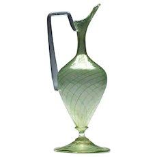 Salviati Murano Italian Glass Ewer c1900