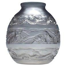 Rene Lalique Soudan Vase 1016