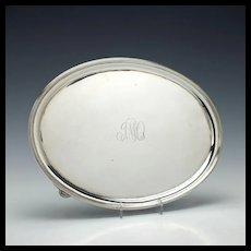 Silver salver London 1794