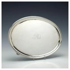 Sterling Silver Salver By Henry Chawner London 1794