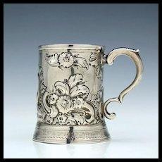 Silver Half Pint Tankard Newcastle 1790