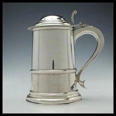 Silver George VI Pint Tankard 1936