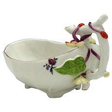 Chelsea Porcelain Sauce Boat c1755