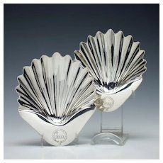 Two Silver Butter Shells London 1811-14