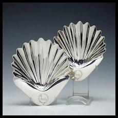 Two Silver Butter Shells London 1811-14