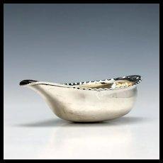 Georgian Silver Pap Boat London 1790