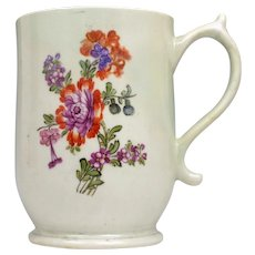 Lowestoft Porcelain Tulip Painter Mug c1775