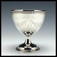 Rare Scottish Silver Sucrier Edinburgh 1784