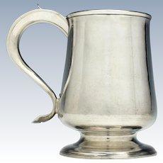 Georgian Silver Pint Tankard London 1798