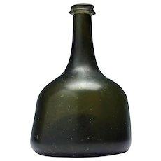 Georgian Mallet Wine Bottle c1720