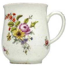 Chelsea Porcelain Red Anchor Mug c1755
